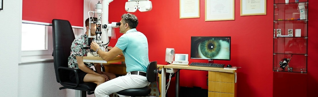 Salle d'examen Optision